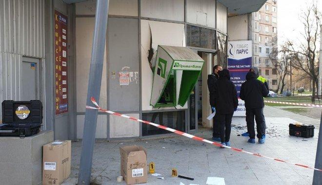 В Харькове ночью взорвали банкомат Приватбанка24