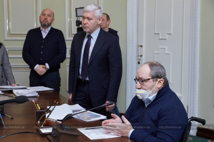 Харьков раздача бесплатных масок - Кернес